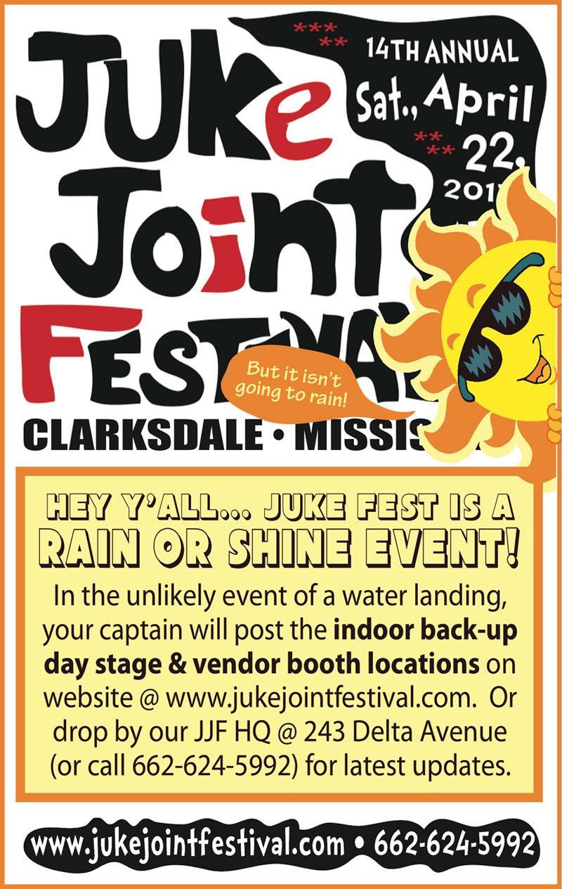 Mississippi Festivals And Events 2020.Juke Joint Festival